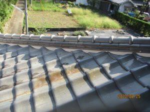 瓦屋根漆喰工事3